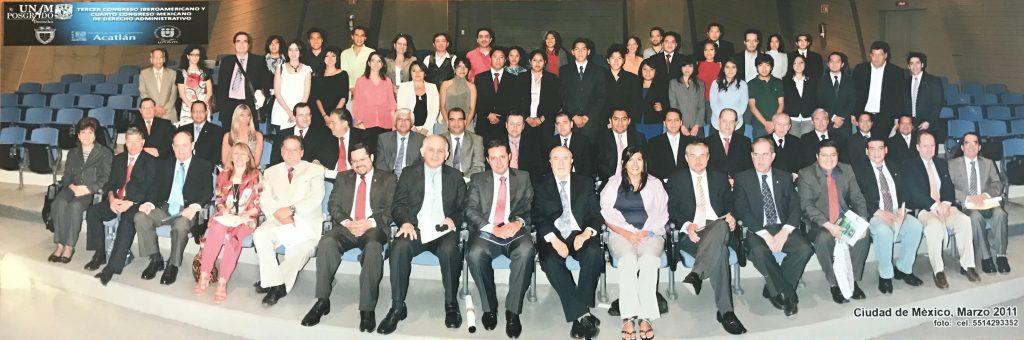 III Congreso Iberoamericano y IV Congreso Mexicano de Derecho Administrativo. Ciudad de México. Marzo de 2011.