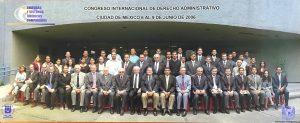 Congreso Internacional de Derecho Administrativo. Ciudad de México. 6 al 9 de junio de 2006.