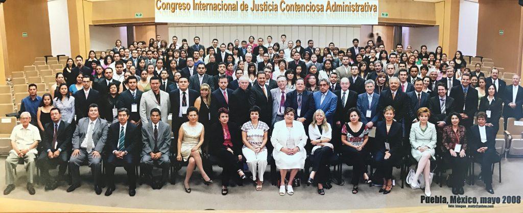 Congreso Internacional de Justicia Contenciosa Administrativa. Puebla, México. Mayo de 2008.